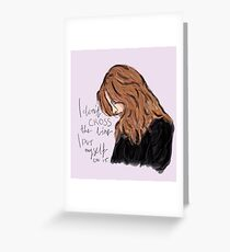 Kate Beckett Greeting Card