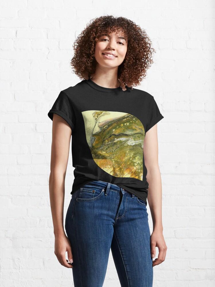 Alternate view of Alien Contemplating A Hillside Classic T-Shirt