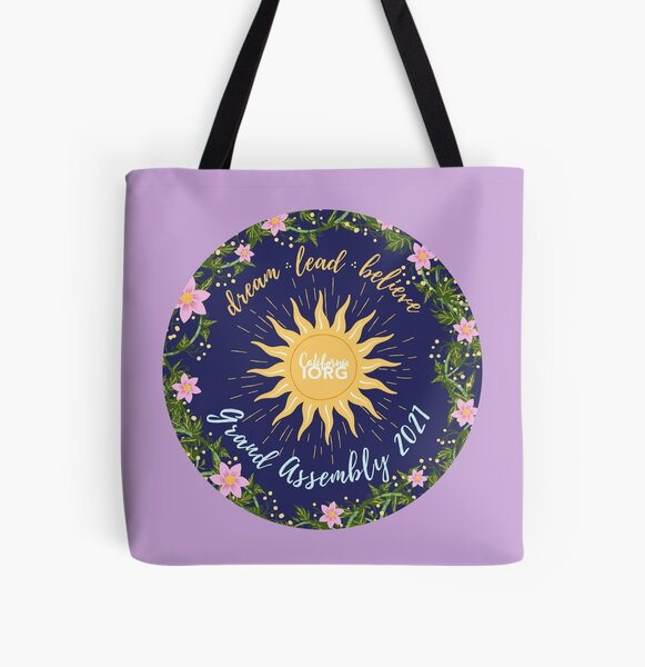 Grand Assembly Design 2021 (purple) All Over Print Tote Bag