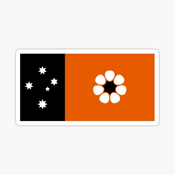 Flag of Northern Territory  Sticker