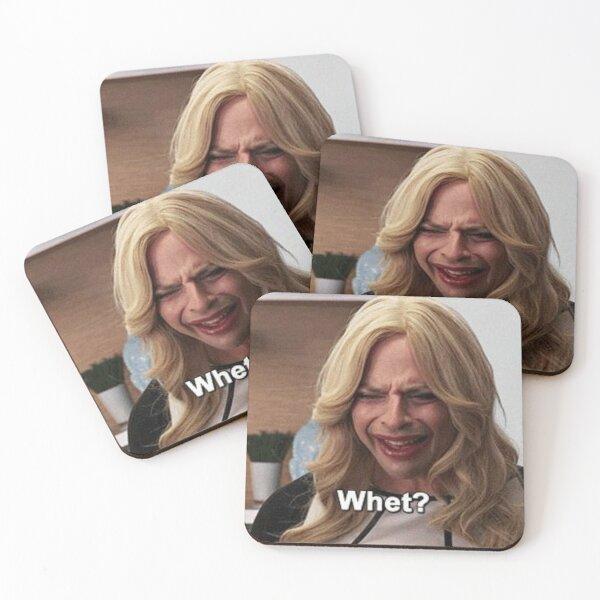 Wait.....Whet? Coasters (Set of 4)
