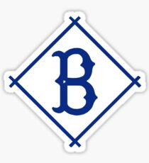 DEFUNCT - BROOKLYN DODGERS Sticker