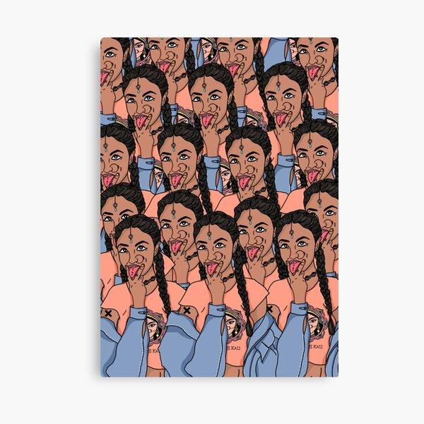 Brown Girl Kali Canvas Print
