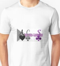 ACES on Demisexual flag T-Shirt