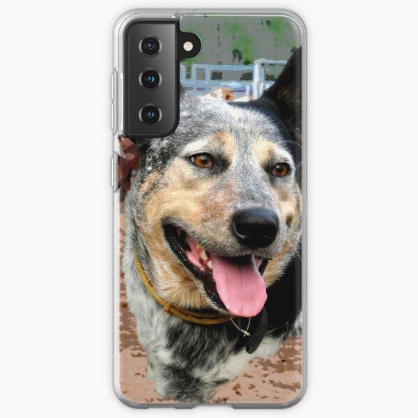 BLUE HEELER, CATTLE DOG Samsung Galaxy Soft Case