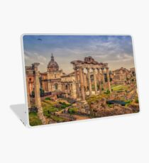 Looking at Ancient and Old Rome Laptop Skin