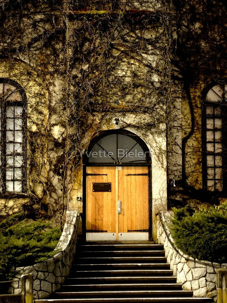 Church Door by Yvette Bielert