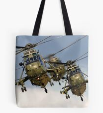 Westland Sea King HC.4 Helicopters Tote Bag