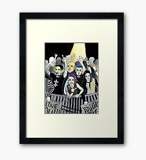 Misfits at a Concert Framed Print