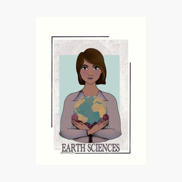 Earth Sciences Art Print