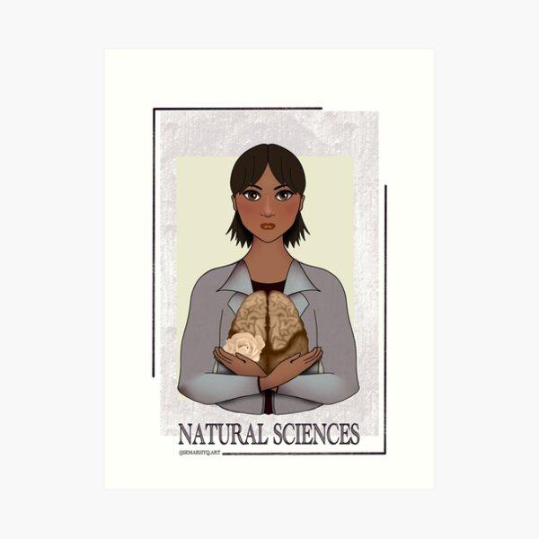 Natural Sciences Art Print