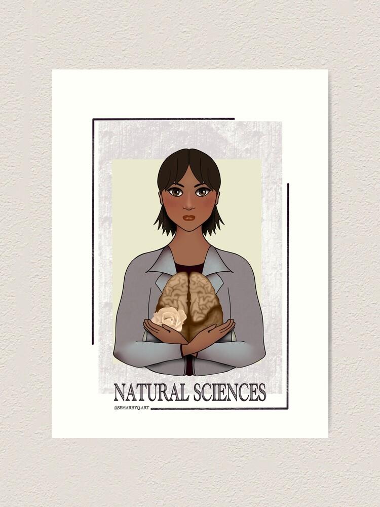Alternate view of Natural Sciences Art Print
