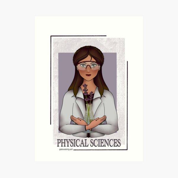 Physical Sciences Art Print