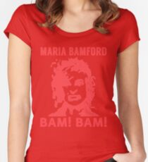 Maria Bamford Women's Fitted Scoop T-Shirt