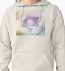 STAR OF DAVID-2- bless and protect- Art + Products Design  Pullover Hoodie