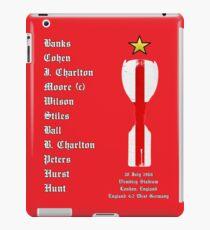 England 1966 World Cup Final Winners, Version 2.0 iPad Case/Skin