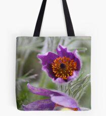 Pasque Flower - Pulsatilla Tote Bag