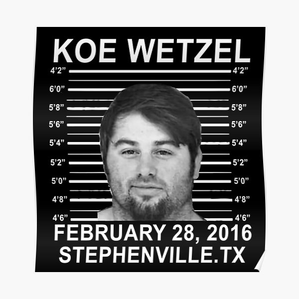 Copy of koe wetzel feb 28 2016 wasted Poster