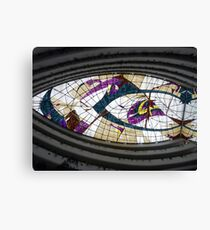 Stained Glass Ceiling - Hotel Rabat Canvas Print