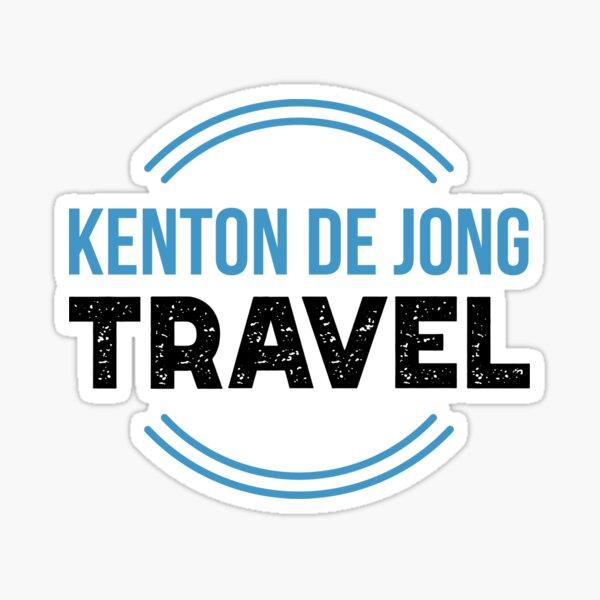 Logo (Coloured) | Kenton de Jong Travel Sticker