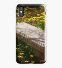 Come Sit Among the Daisies iPhone Case/Skin