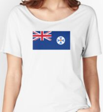 Flag of Queensland Women's Relaxed Fit T-Shirt