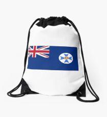 Flag of Queensland Drawstring Bag