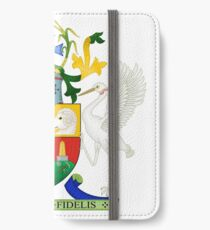 Coat of Arms of Queensland iPhone Wallet/Case/Skin