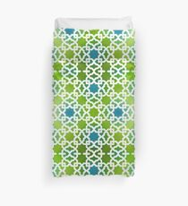 Geometric Pattern - Oriental Design  Duvet Cover