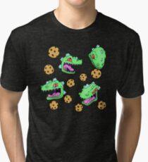 Cookie Dinosaur Tri-blend T-Shirt