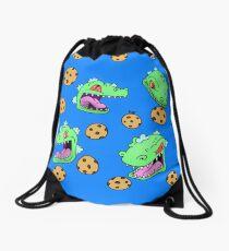 Cookie Dinosaur Drawstring Bag