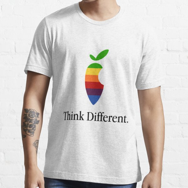 """Apple Parody Zootopia Carrot """"Think Different"""" Logo Essential T-Shirt"""