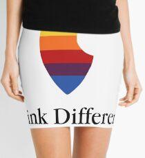"""Apple Parody Zootopia Carrot """"Think Different"""" Logo Mini Skirt"""