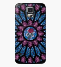 Stained Glass Rose Case/Skin for Samsung Galaxy