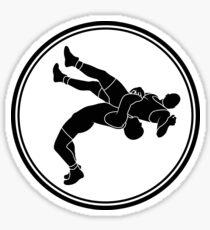 Mens Wrestling Sticker
