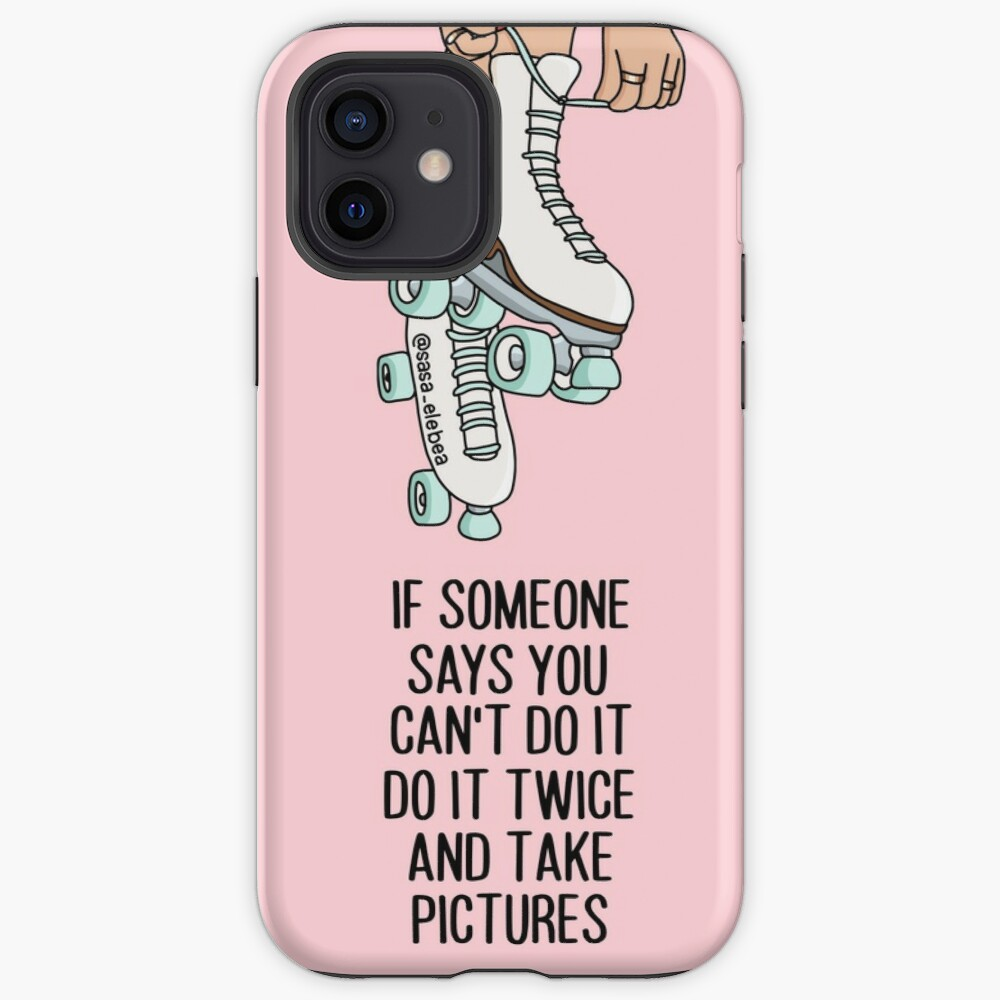 Do it twice by Sasa Elebea iPhone Case & Cover