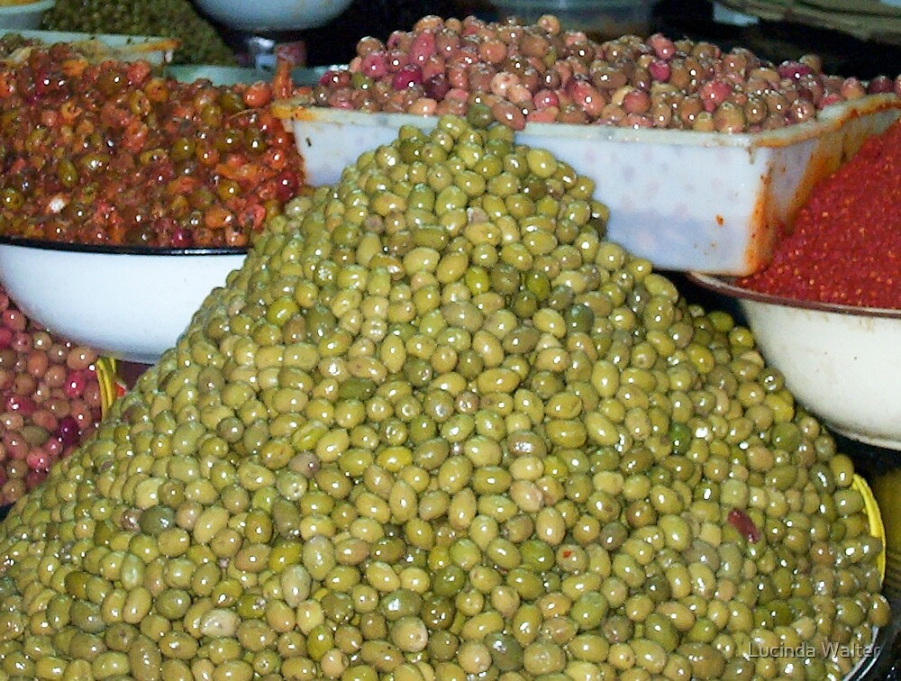 Olive Market in Adigar by Lucinda Walter