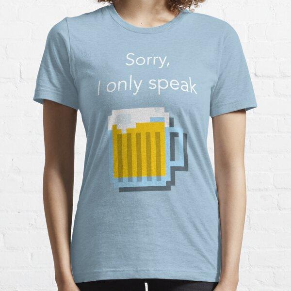 Beerspeak Essential T-Shirt