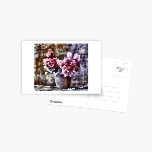 La rose Carte postale