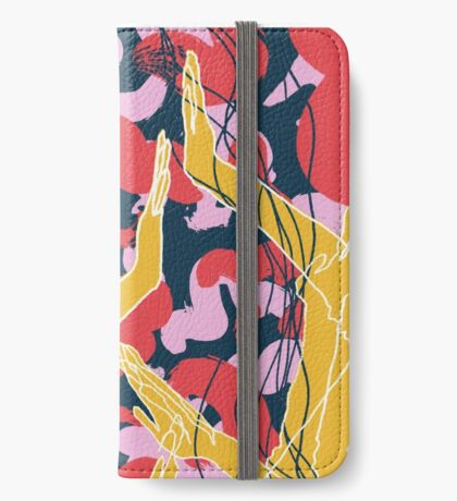 Colourful Arms iPhone Wallet