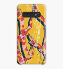 Expressive Arms in Yellow Case/Skin for Samsung Galaxy