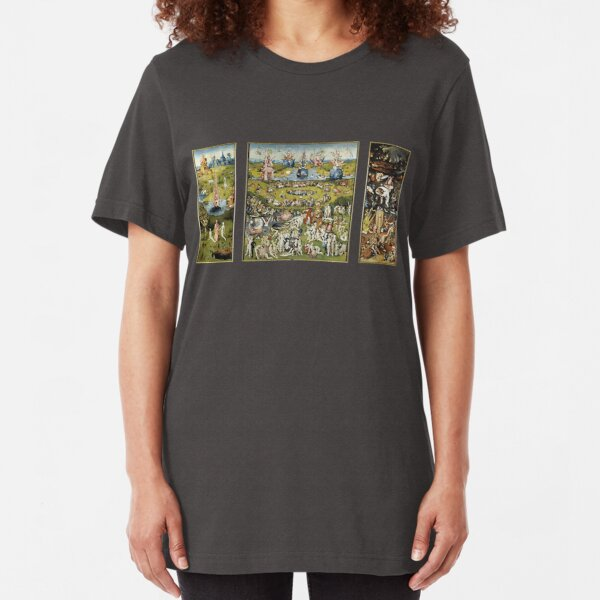 The Garden Of Earthly Delights Slim Fit T-Shirt