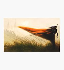 Vampire Hunter D; Castle Photographic Print