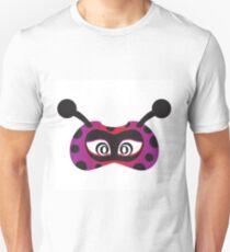 lady bird party mask face Unisex T-Shirt