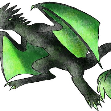 Venom Dragon by SarahArundale