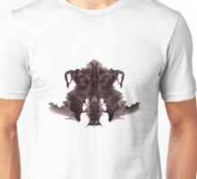 Rorschach Ink Blot 4 Unisex T-Shirt