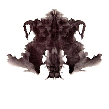 Rorschach Ink Blot 4 by mouse