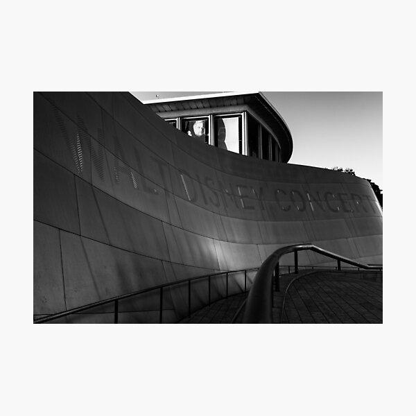 X Concert Hall - Los Angeles USA Photographic Print