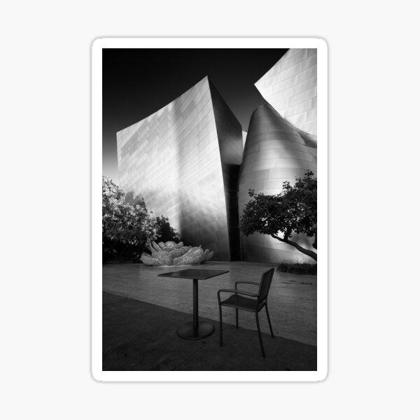 A seat in the sun - Los Angeles California USA Sticker