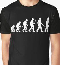 Funny Firefighter Evolution Shirt Graphic T-Shirt